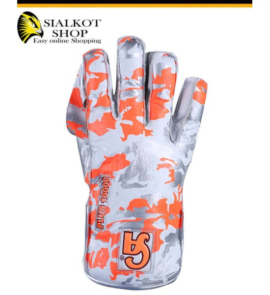 Plus 1000 Camo edition Wicket Keeping Gloves