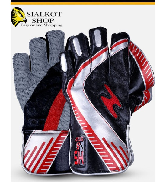 HS Sports wicket Keeping Gloves 5 Star - copy