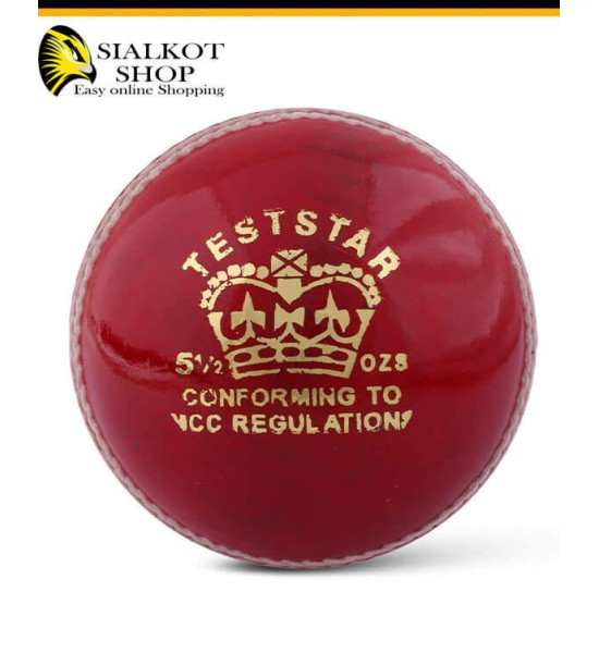 CA Test Star Red Cricket Ball
