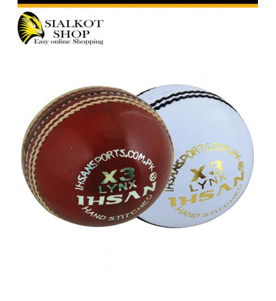 IHSAN LYNX X3 Cricket Ball