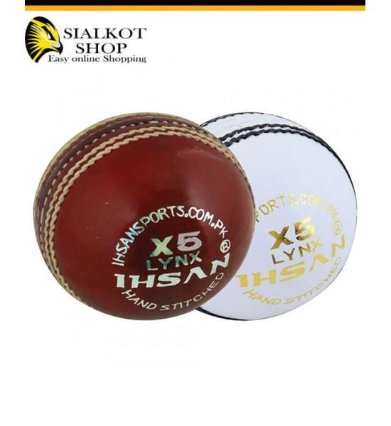 IHSAN LYNX X5 Cricket Ball