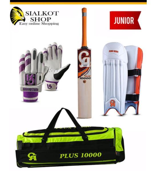 CA Plus 10000 cricket kit for juniors