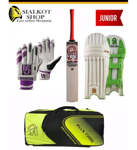 CA Plus 15000 Junior Cricket kit