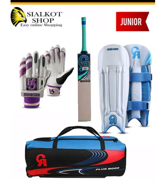CA Plus 8000 Junior Cricket kit