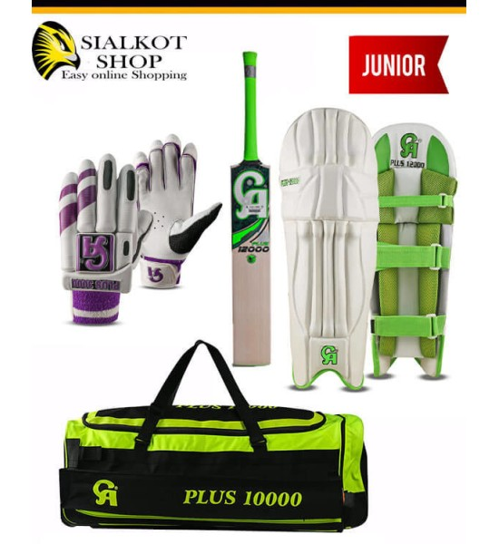 CA Plus 12000 Junior Cricket kit
