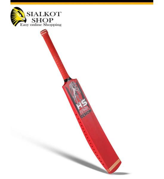 HS Dark Demon Tape Ball Cricket Bat